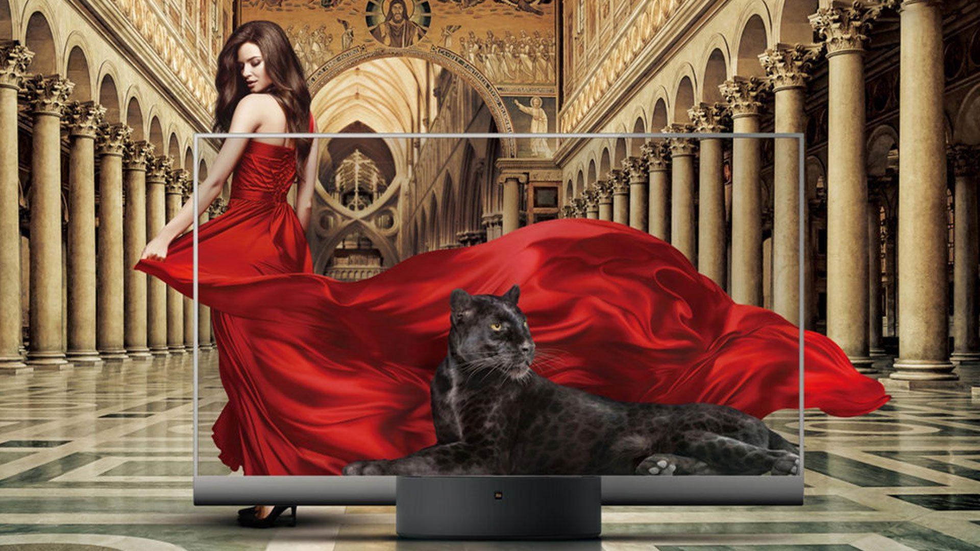 Xiaomi Mi TV Lux is een transparante oled-televisie